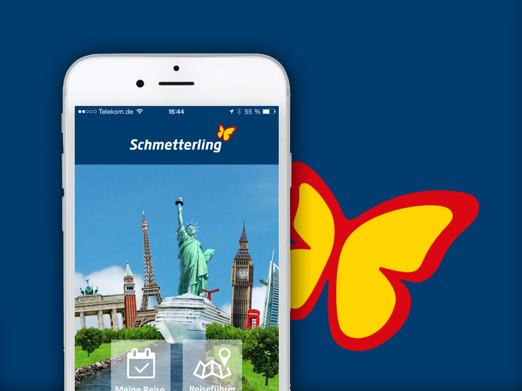 App Schmetterling